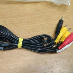 Cablu Jack 3.5 1RCA - 3RCA 1,5m #40168, Cabluri jack