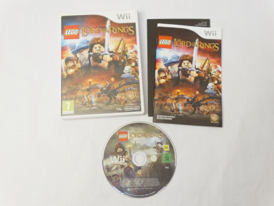Joc Nintendo Wii - LEGO The Lord of the Rings foto