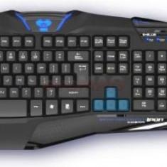 Kit Tastatura E-Blue si Mouse Gaming Cobra Reinforcement-Iron Professional (Neagra)