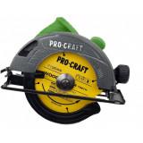 Fierastrau circular Procraft KR2300, 2.3KW, 5000RPM, diametru disc 185mm