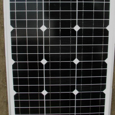 Panou Solar Fotovoltaic Monocristalin 50 W Sisteme solare Fotovoltaice pe  12 V