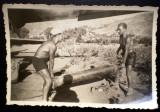 P.075 FOTOGRAFIE RAZBOI LUFTWAFFE WWII AVIATIE BOMBARDIER DORNIER 4U PK 8,7/6cm