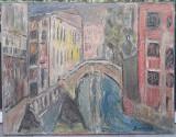 Tablou ulei semnat - Bunescu, Peisaje, Impresionism