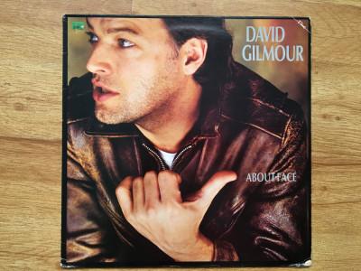 DAVID GILMOUR ( PINK FLOYD ) - ABOUT FACE (1984,FAME,UK)  vinil vinyl foto