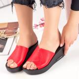 Papuci dama rosii MDL00790