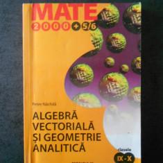 PETRE NACHILA - ALGEBRA VECTORIALA SI GEOMETRIE ANALITICA