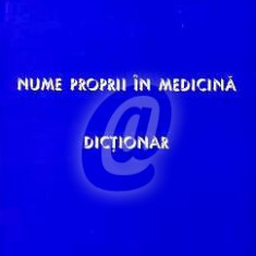 Nume proprii in medicina - Dictionar