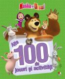 Cartea cu 100 de jocuri si activitati - Masha si Ursul Vol II