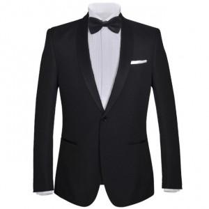 Frac/ Costum de seară bărbătesc 2 piese mărimea 52 negru