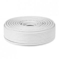 Cablu coaxial rg-6u cu 1.02/64x0.12 cabletech