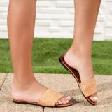 Papuci dama camel Palisa