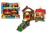 Set de joaca Dickie Toys - Ferma cu tractor si remorca
