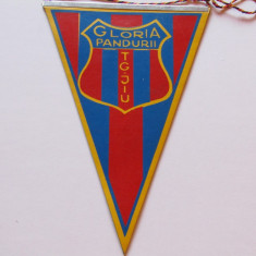 "Fanion fotbal - ""GLORIA"" PANDURII TARGU-JIU"