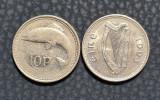 Irlanda 10 pence 1993, Europa