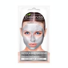 Masca Metalica Detoxifianta pentru Ten Mixt si Gras Bielenda 8gr Cod: 2765bie
