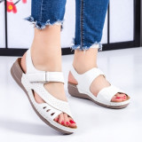 Sandale Tanulata albe -rl