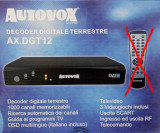 Receiver DVB-T - AUTOVOX model DGT08N - Decoder Digital Terestru
