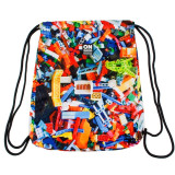 Sac de sport multicolor pentru copii, 46x35,5 Cm - STARPAK