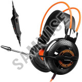 Casti Gaming Somic G925 Black/Orange