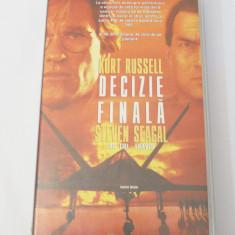 Caseta video VHS originala film tradus Ro - Decizie Finala