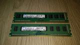 Kit 8 Gb DDR3 Samsung 1600 Mhz /2 x 4 Gb Dual chanell PC3-12800U / Testat (114B), DDR 3, Dual channel