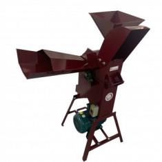 Moara cu tocator de furaje Vivatechnix VMD-1020, putere 3kW, 2800rpm, 500 kg/h