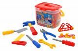 Cumpara ieftin Set unelte si accesorii constructie - 132 piese - Polesie Wader