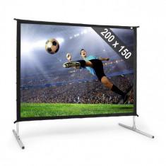 """FrontStage PSK C100 ecran proiecție pliabil200x150cm 100 """"254 cm Alu"""