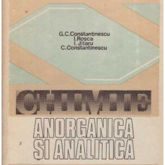 Chimie anorganica si analitica