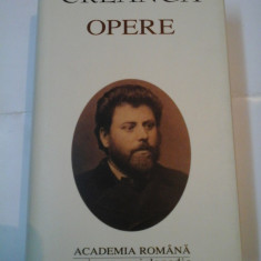 ION CREANGA - OPERE - editia Academiei Romane