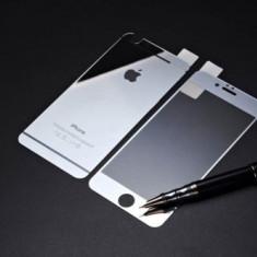 Folie protectie din sticla pentru Iphone 7/8, full cover, argintiu