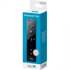 Wii Remote Controller + Wii Motion Plus Black