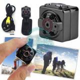 Mini camera video Full HD SQ8, 1080p, 12 mp, suport micro SD