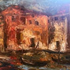 Peisaj venetian - Gh. Petrascu