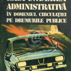 Raspunderea administrativa in domeniul circulatiei pe drumurile publice