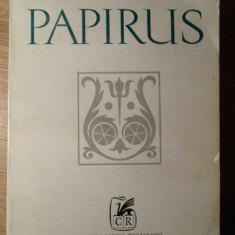 PAPIRUS VERSURI - STEFAN AUG. DOINAS