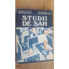 Studii de sah- Emilian Dobrescu, Virgil Nestorescu