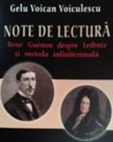 Note de lectura. Rene Guenon despre Leibniz si metoda infinitezimala