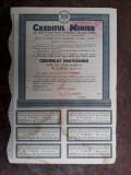 30000 Lei 1945 Creditul Minier Bucuresti actiuni vechi actiune Romania 3354880