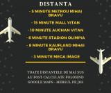 Mihai Bravu, 550 metri Metrou, 39mp, bloc nou, lift, finisaje lux