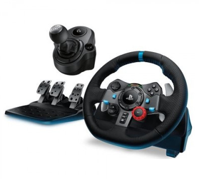 Volan LOGITECH Driving Force G29 PS4/PS3/PC + schimbator foto