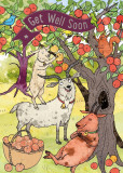 Felicitare cu poveste - The Three Billy Goats Gruff | Cardoo