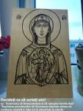 Pesonalizabile Icoana Sfanta Maria individual specială gravată