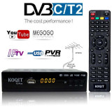 Tuner digital TV, DVB-C, Dvb-t2, Media player, TV Box, H.264, youtube, IPTV