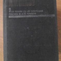UN ROMAN CU UN CONTRABAS. FERICIREA SI ALTE POVESTIRI (OPERE 3) - A.P. CEHOV