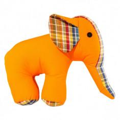 Jucarie textila pentru bebelusi U-Grow, Elefant