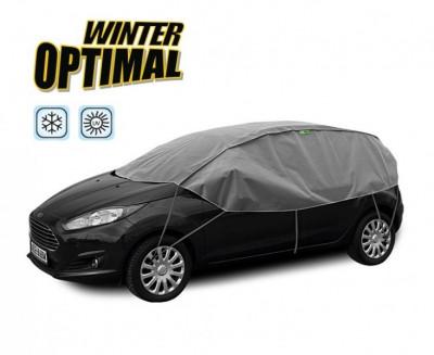 Semi prelata auto Winter Optimal S-M hatchback pentru protectie inghet si soare, l=255-275cm, h=70cm Kft Auto foto