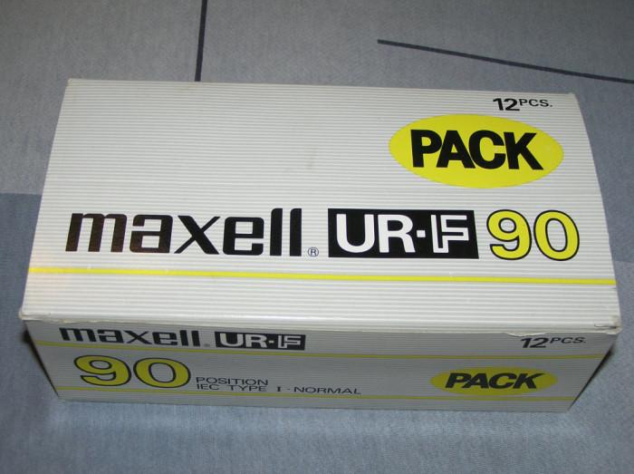 Caseta audio Maxell UR-F
