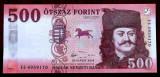 UNGARIA 500 Forint 2018 (2019) UNC necirculata NEW DESIGN / SECURITY **