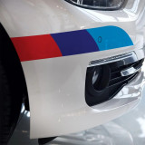 Sticker decorativ autocolant sticker bmw m stripes